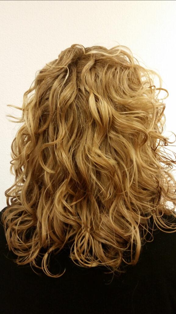curlsys na alleen gedroogd met diffuser